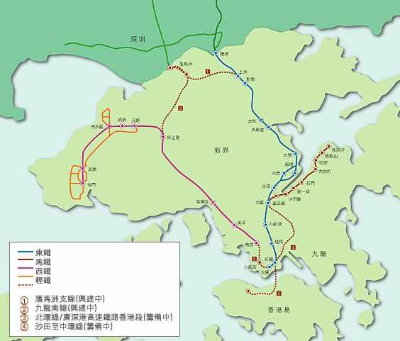 九铁铁路路线图