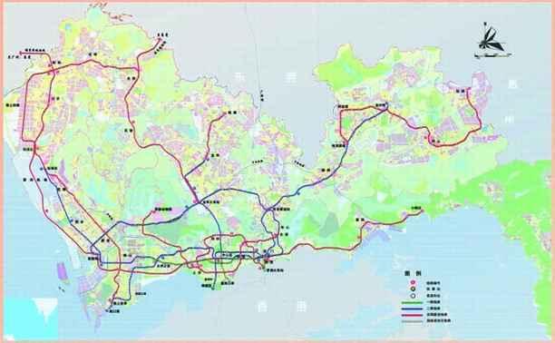 《深圳市轨道交通规划及